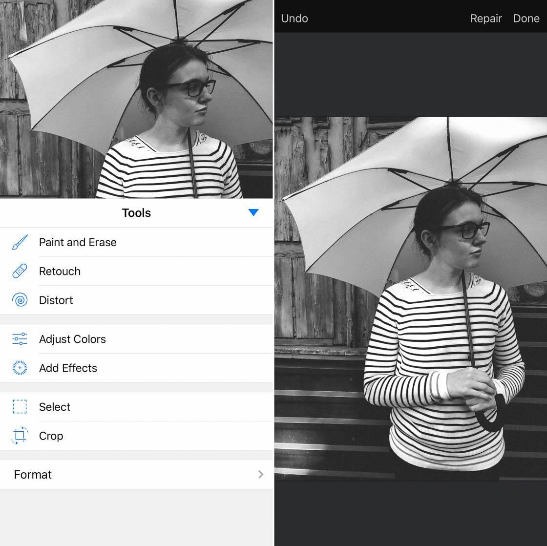 Photo retouch app 57 no script