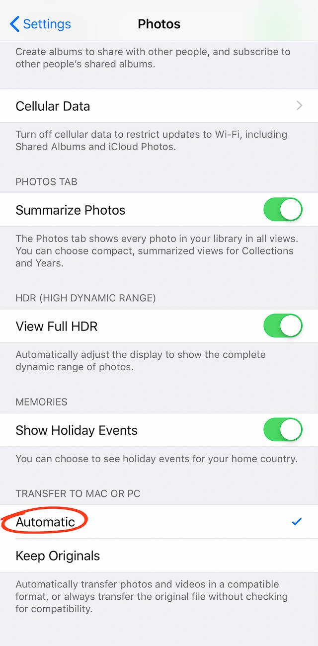 How to transfer photos from iphone to pc 20 no script
