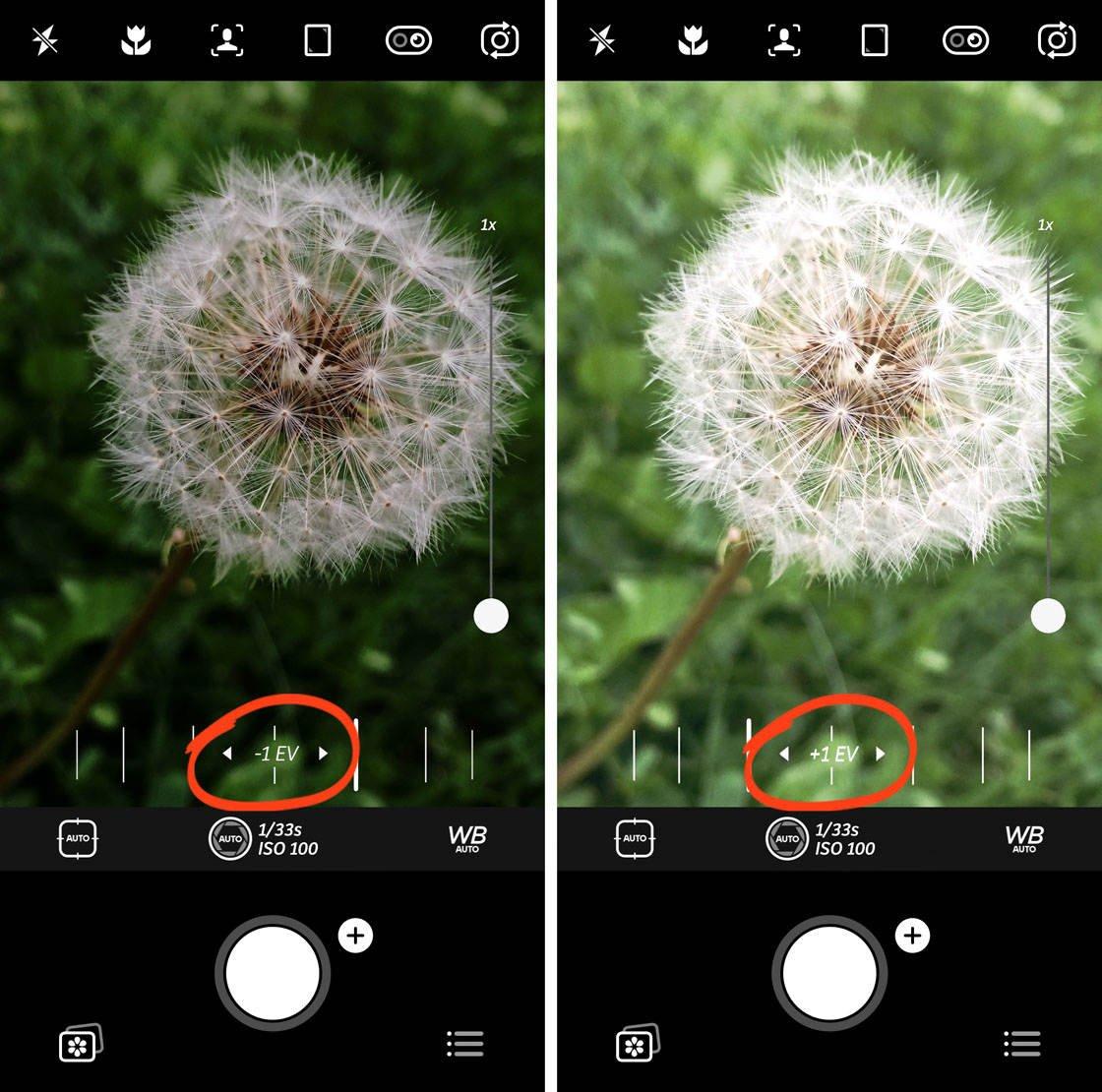 Advanced iphone camera controls 81 no script