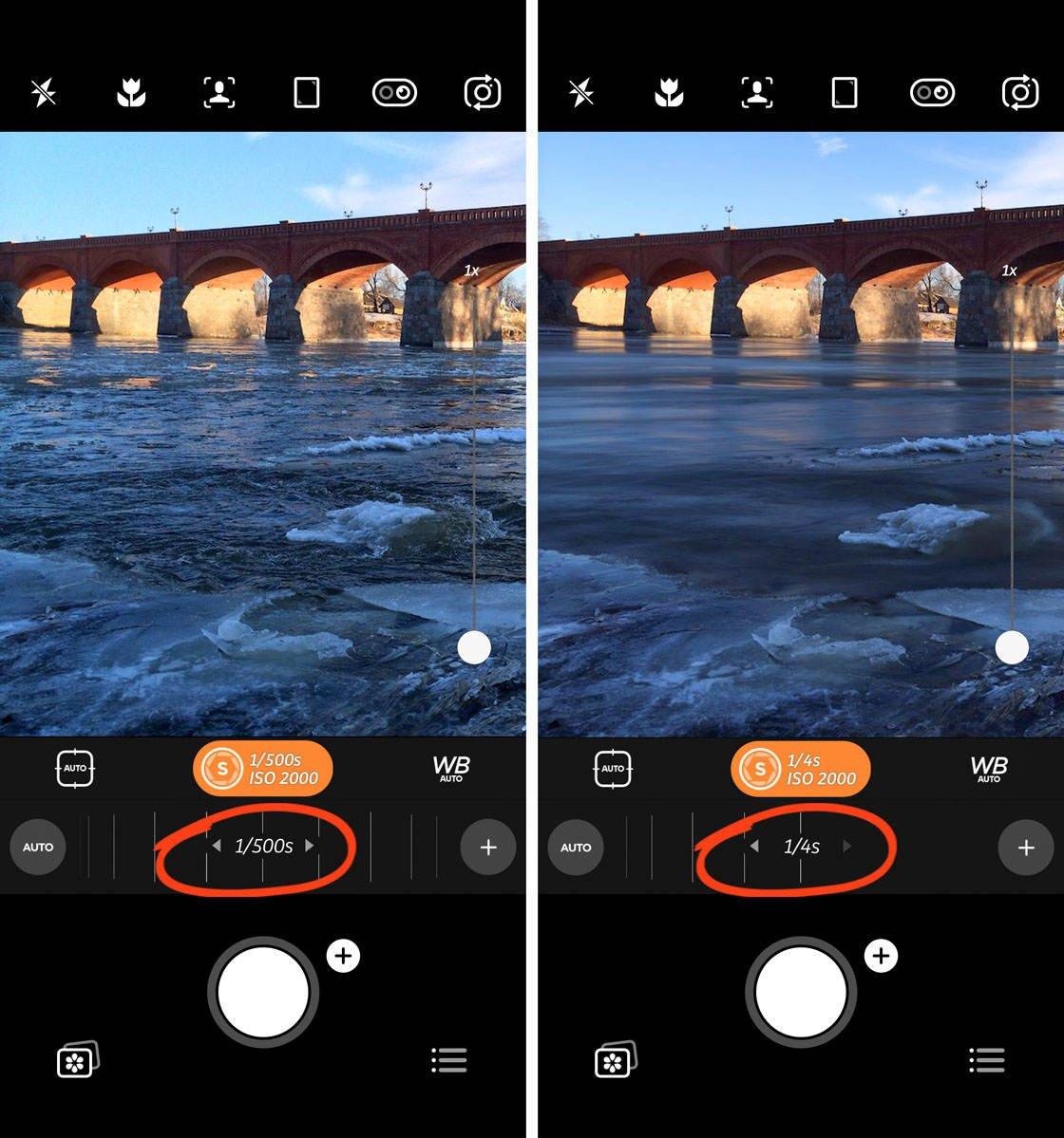Advanced iphone camera controls 84 no script