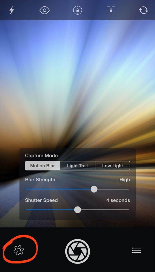 Advanced iphone camera controls 58 no script