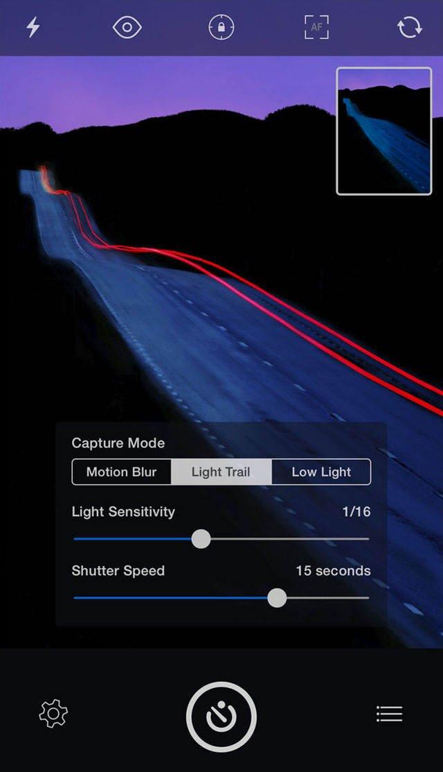 Advanced iphone camera controls 63 no script
