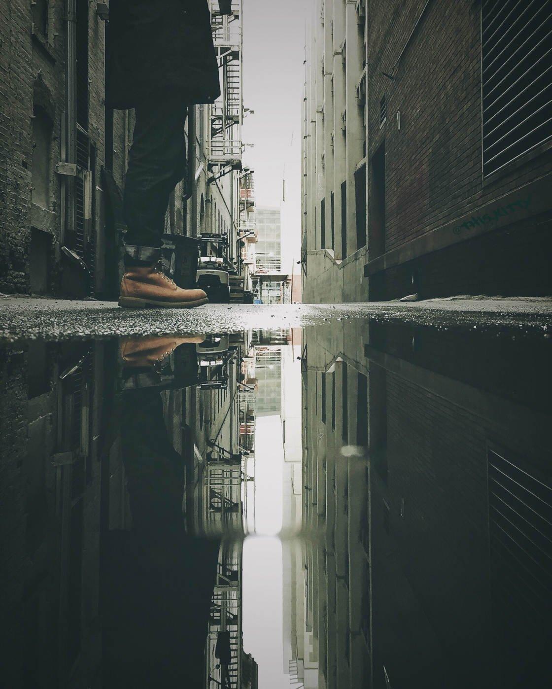 iPhone городской пейзаж