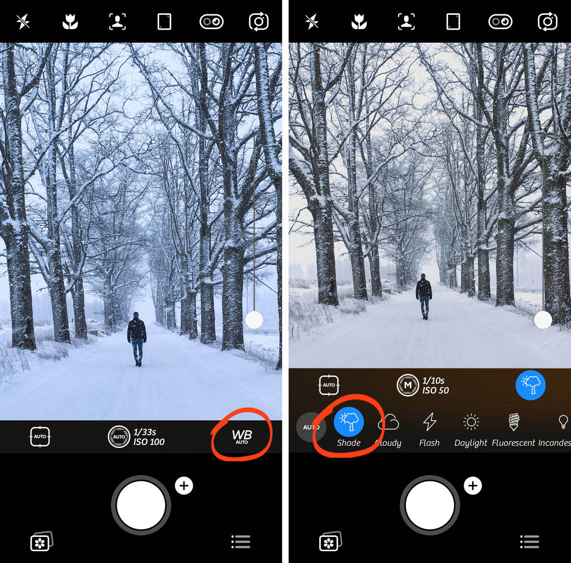 Advanced iphone camera controls 96 no script