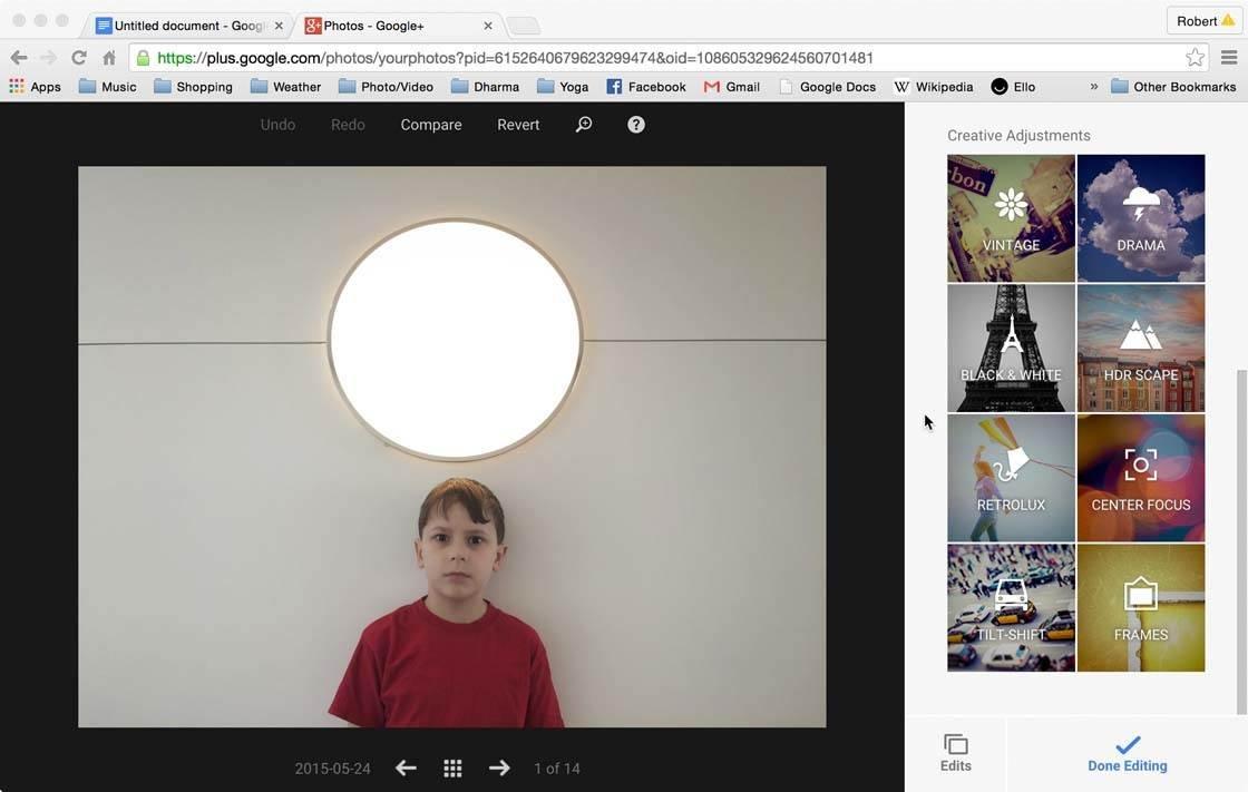 Snapseed Google Plus 9 no script