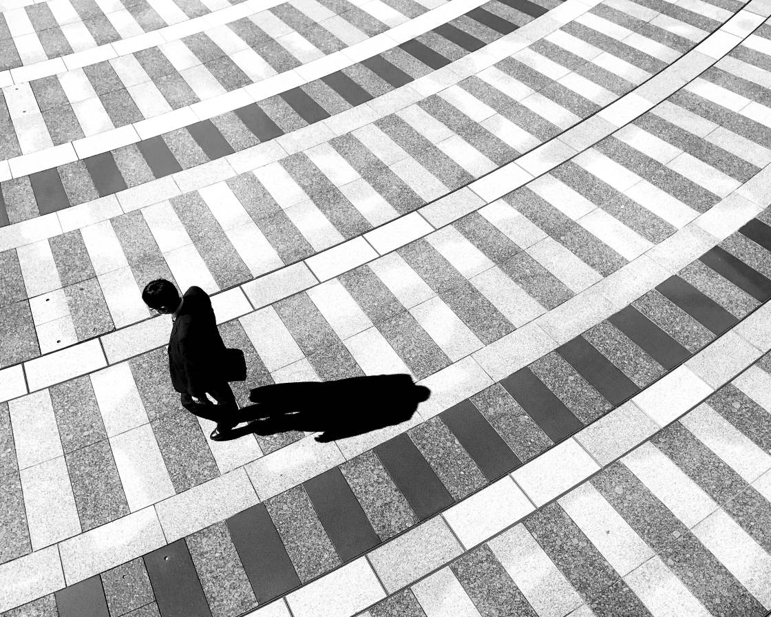 black and white street photography no script