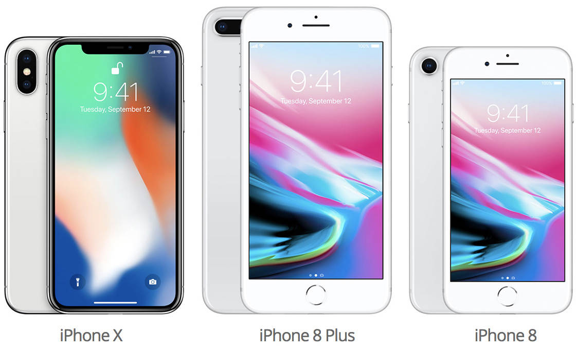 iPhone 8 vs iPhone X Camera no script