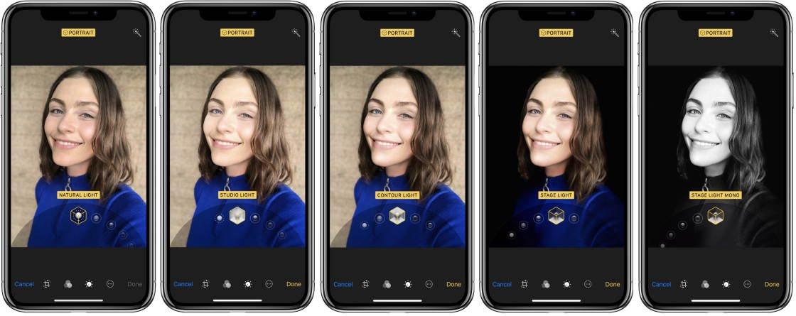Các chế độ xóa phông trên Iphone - cách xóa phông iphone