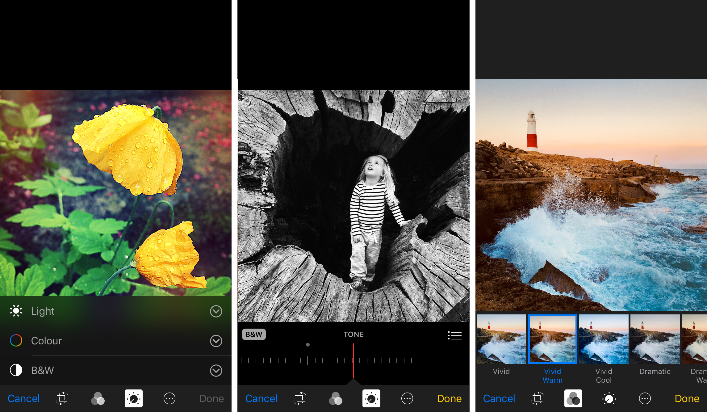 How to edit photos on iphone using the built in photos app