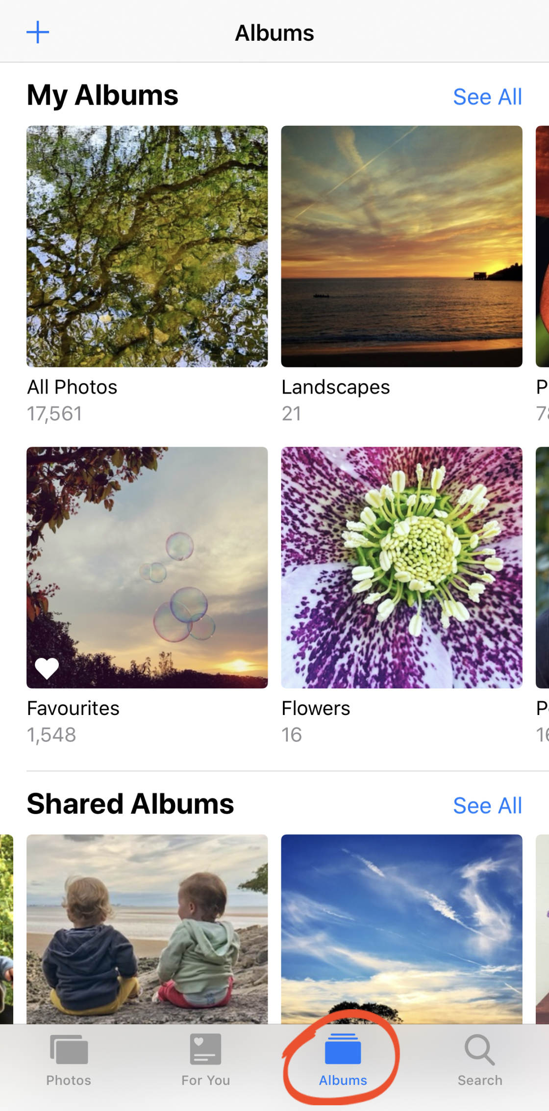 How to create an album on facebook from iphone 6