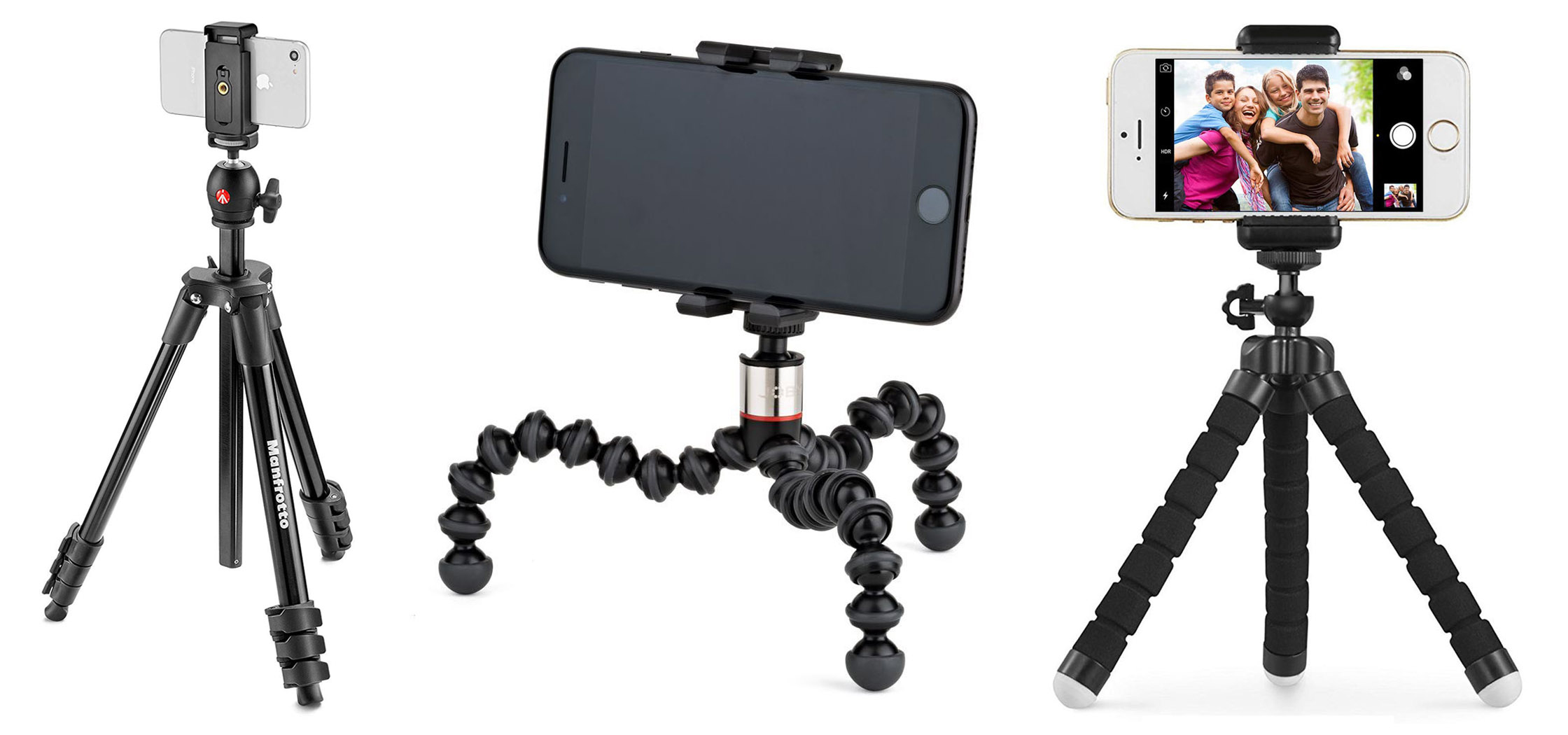 new products 6fb45 60726 iPhone Tripod Comparison: Pick The Best iPhone Tripod For You