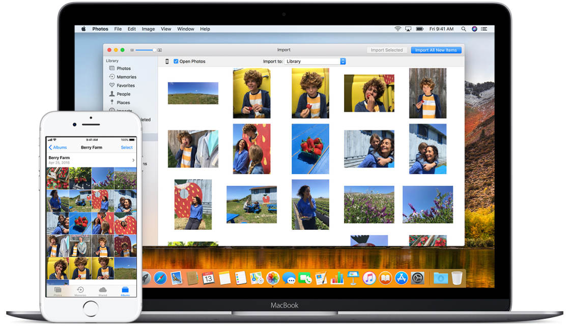 How To Transfer Photos From iPhone To Computer (Mac