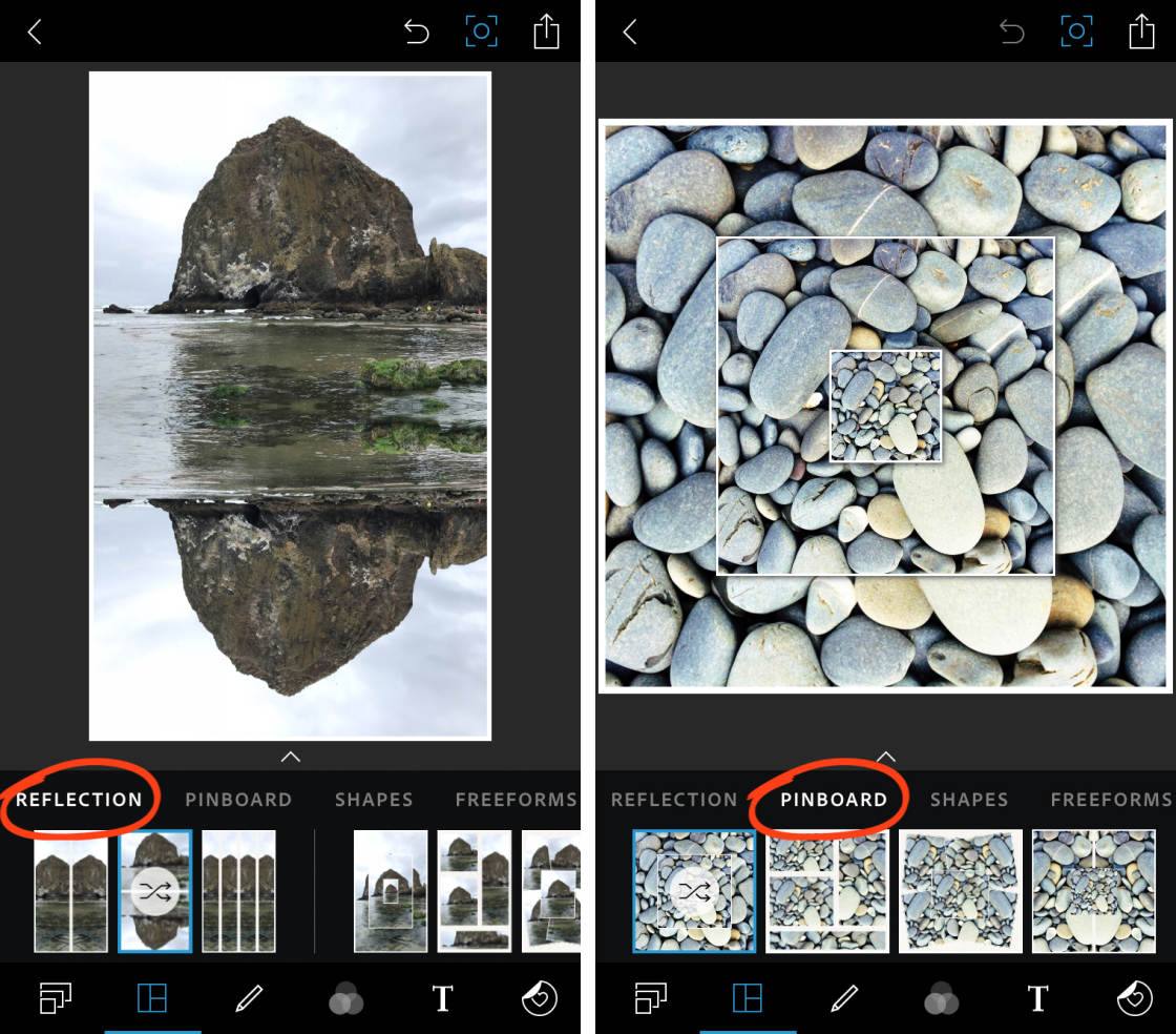 Friday Photoshop Blogging Other Pebble >> Photoshop Express Create Stunning Iphone Photo Edits With This Easy App