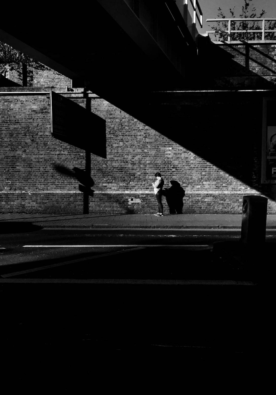 street photography shadows no script