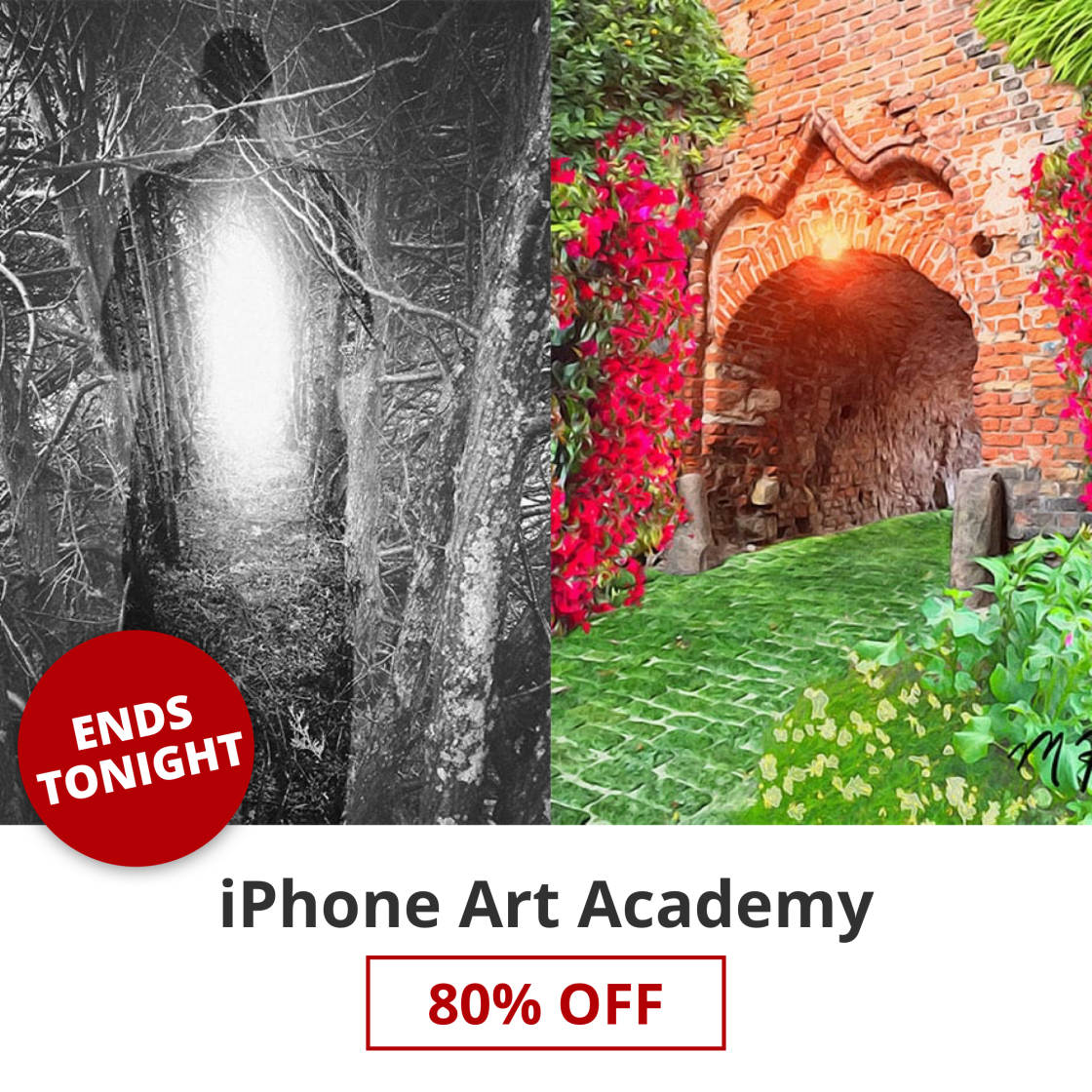 LAST CHANCE: Huge 80% Discount For iPhone Art Academy Ends Tonight!