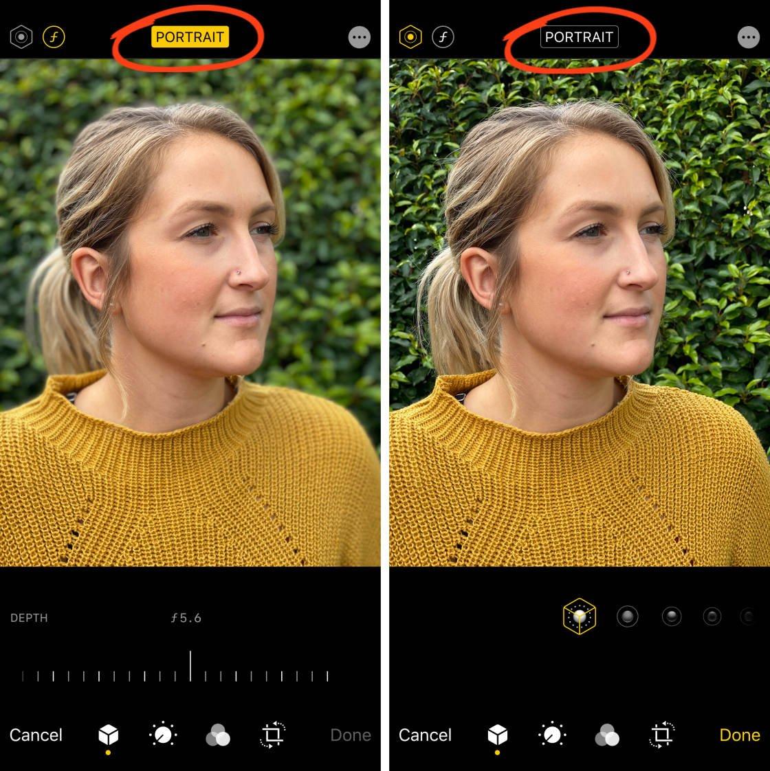 iPhone Camera no script