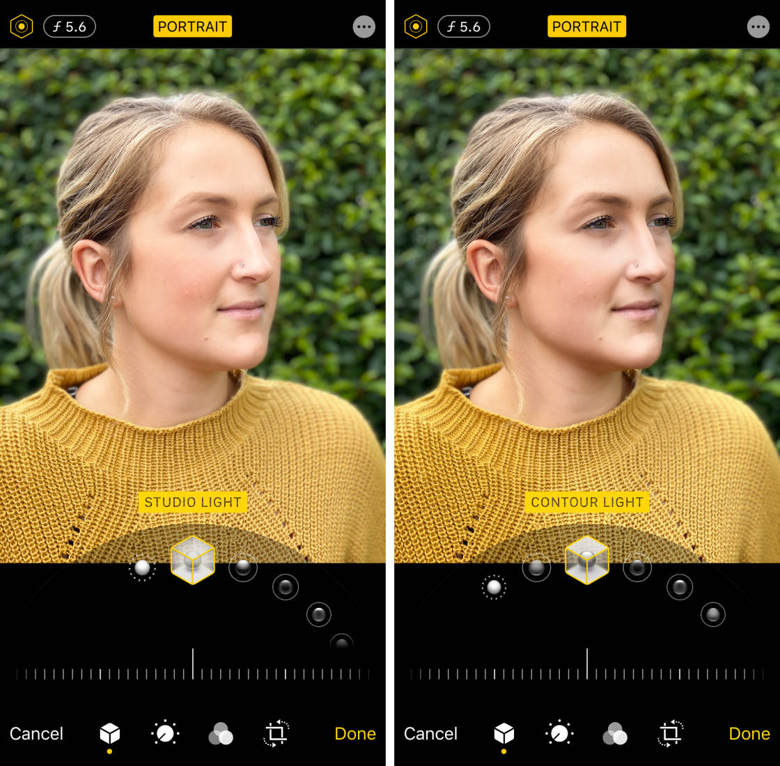 How To Blur Background On iPhone no script
