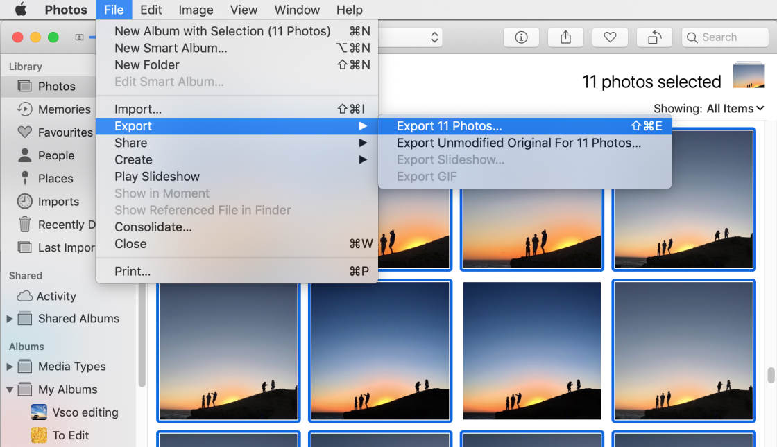 download photos from icloud no script