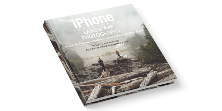iPhone Landscape Photography eBook Cover no script