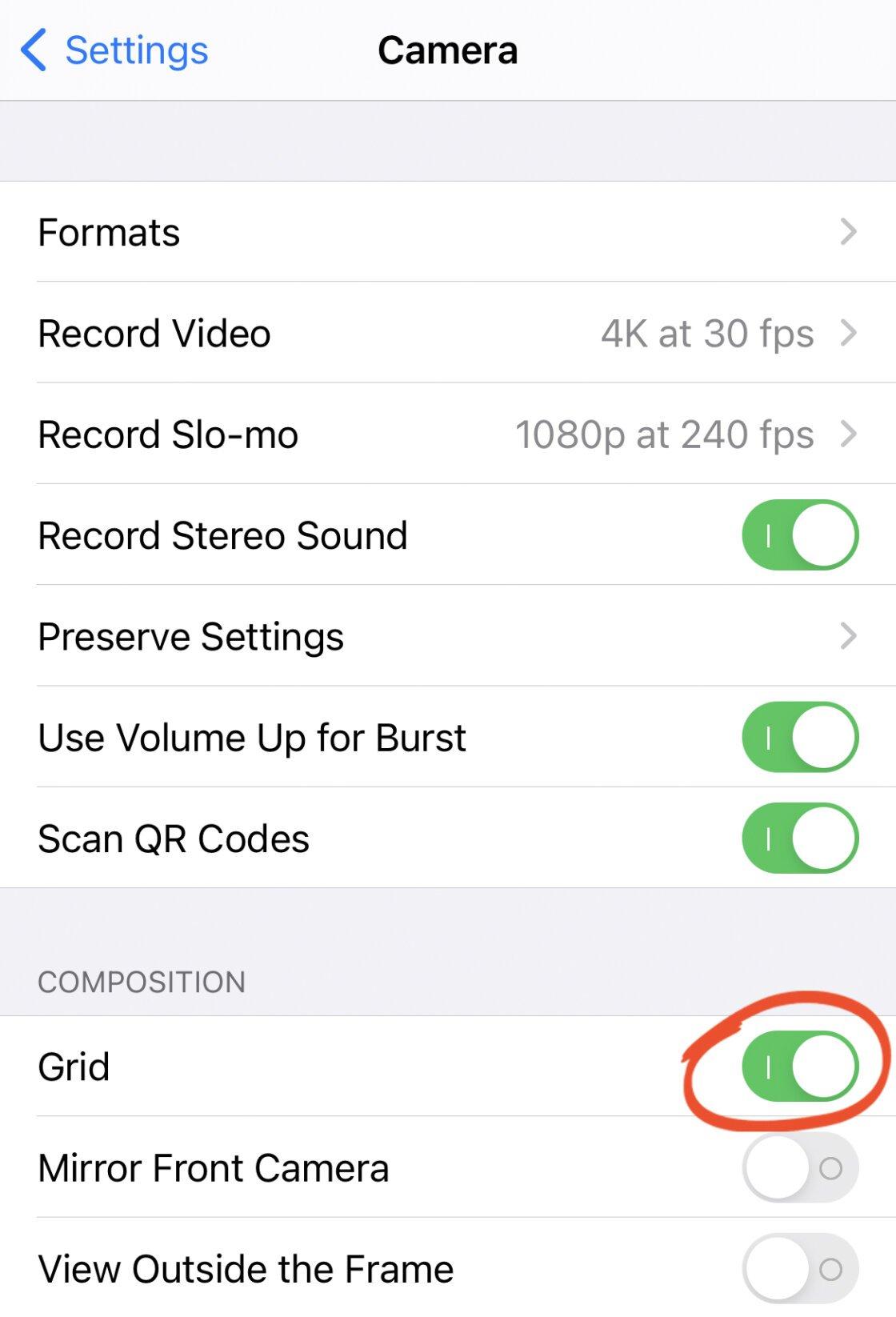 iPhone Photo Composition no script