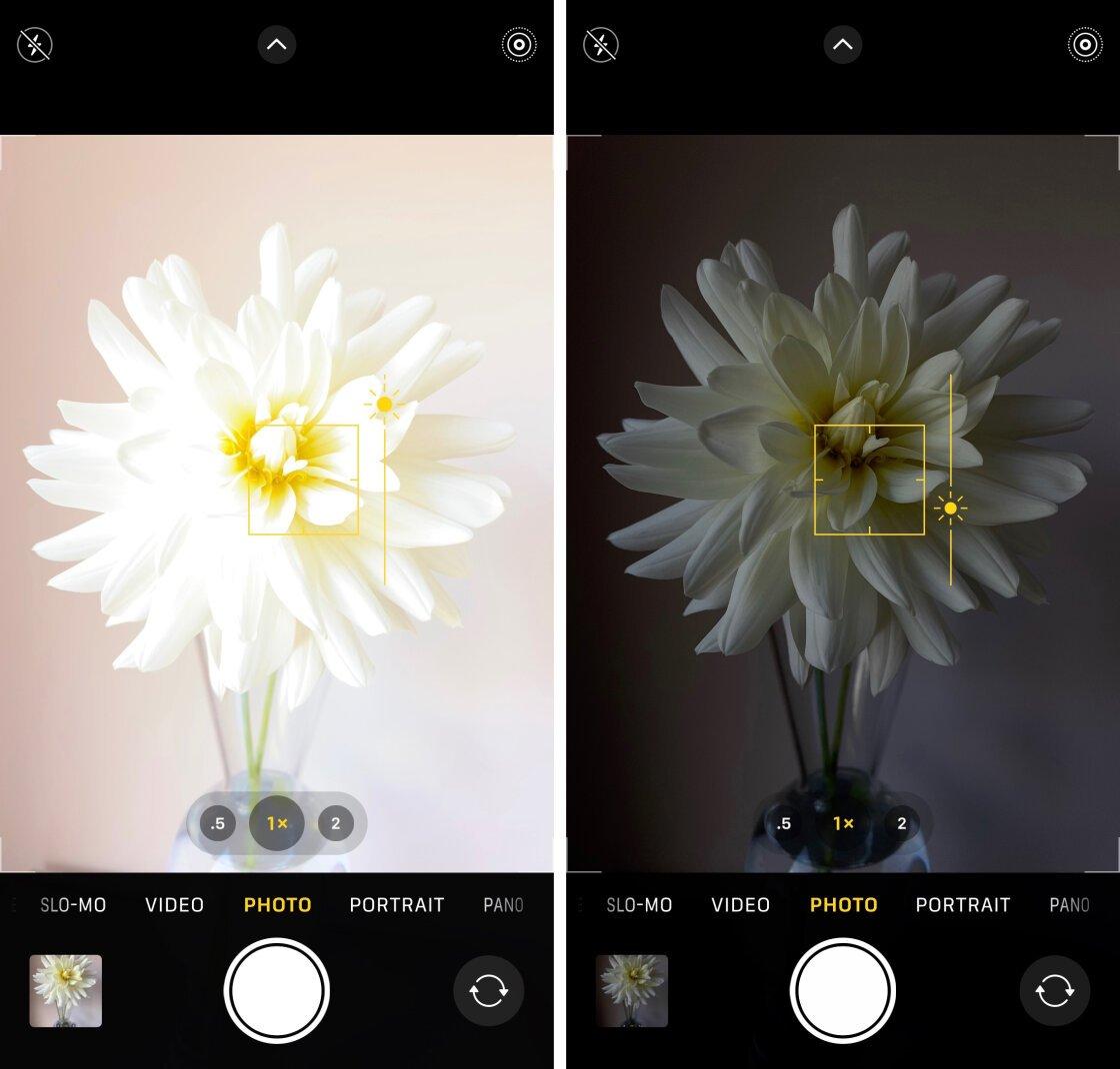 iPhone Camera Controls