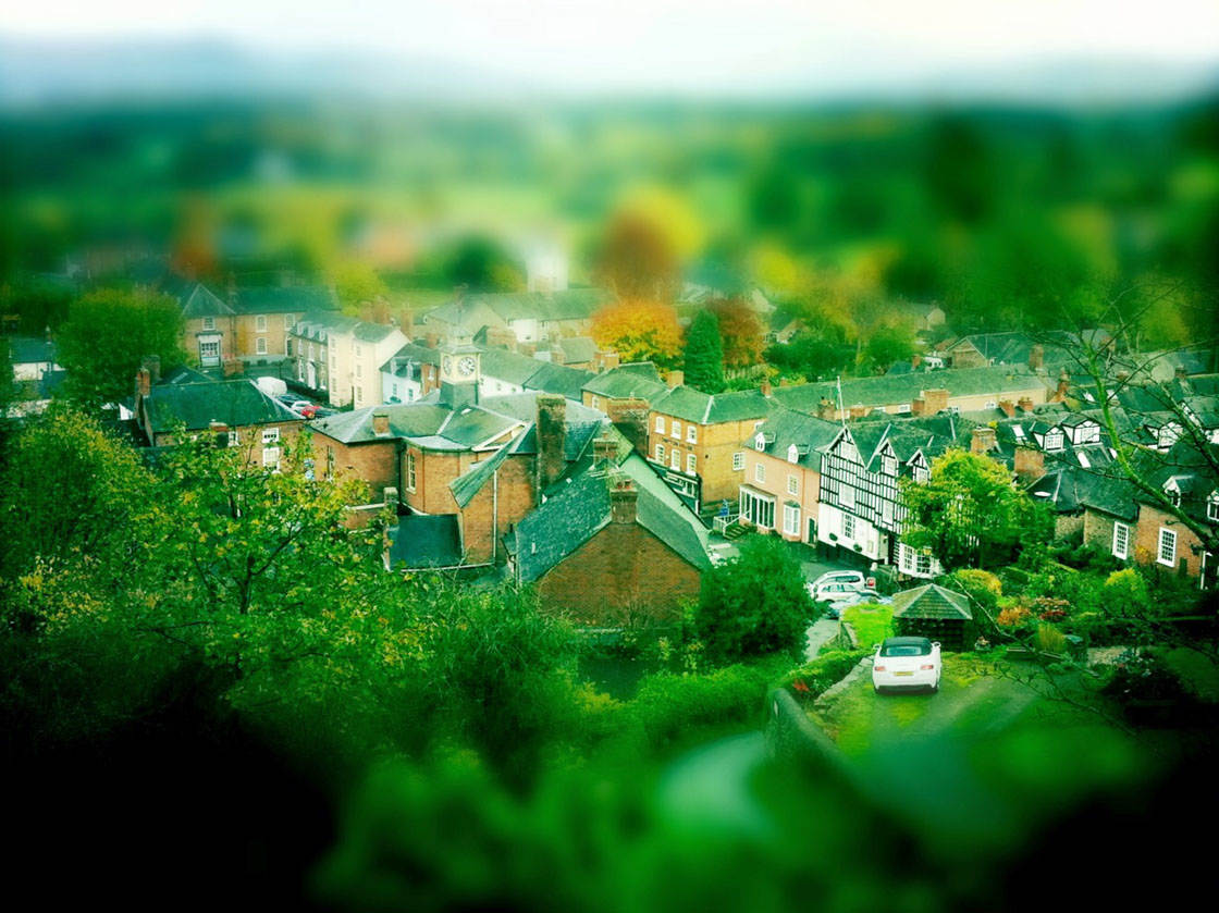 Tilt Shift iPhone Photos 13 no script