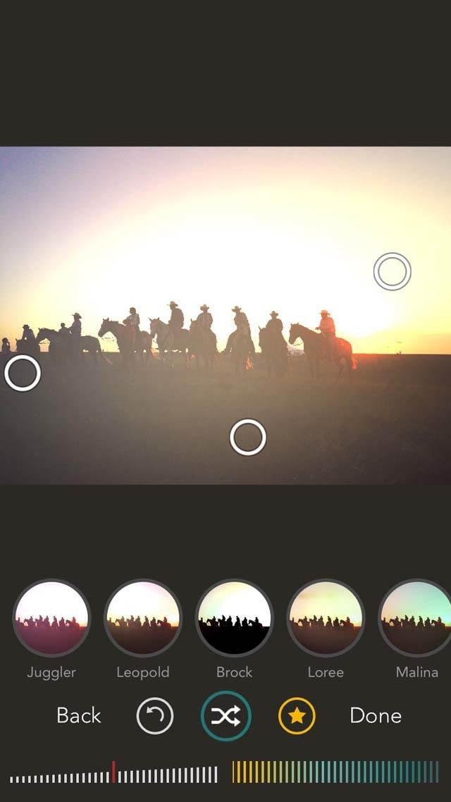 Shift App iPhone Photos 9 no script