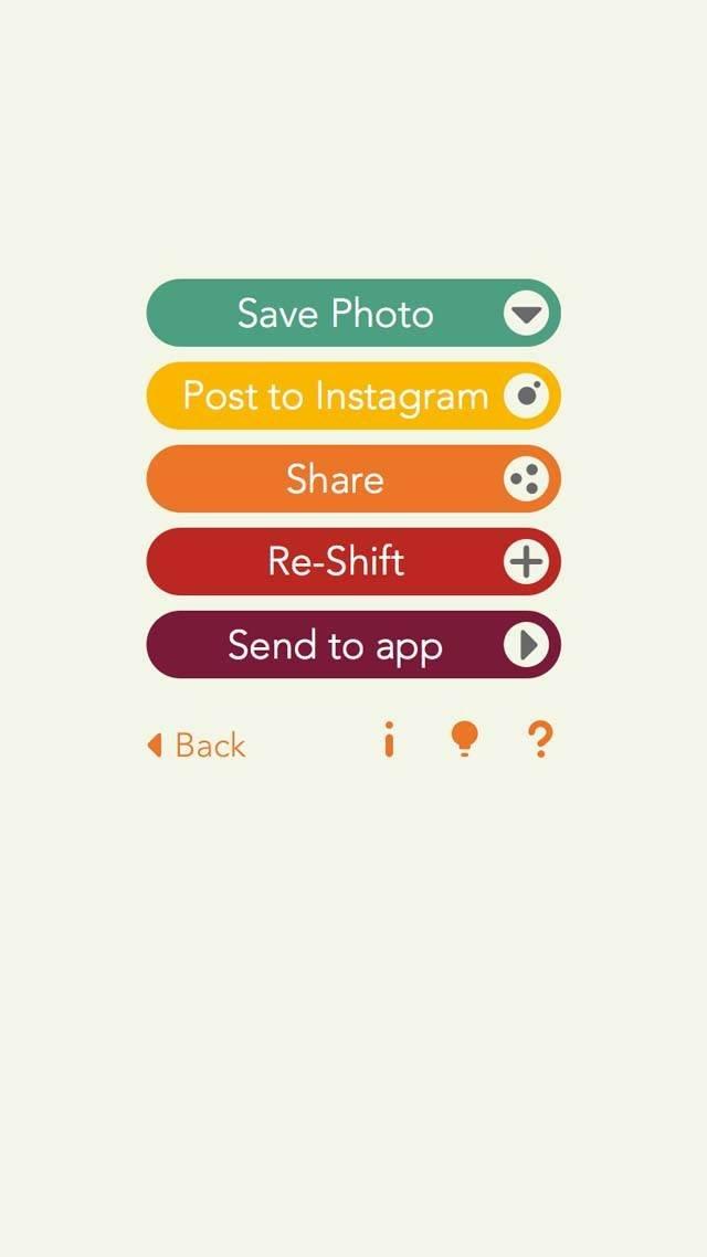 Shift App iPhone Photos 3 no script