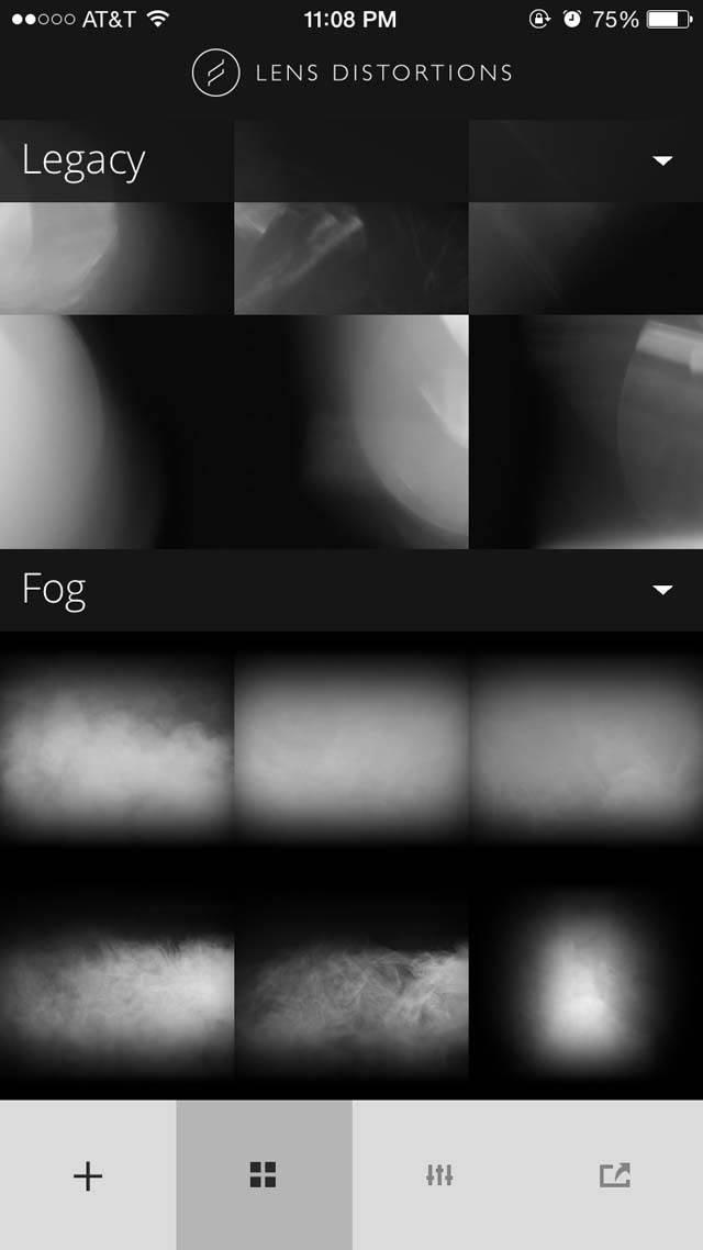 Lens Distortions iPhone App 2 no script