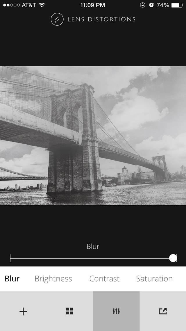 Lens Distortions iPhone App 4 no script