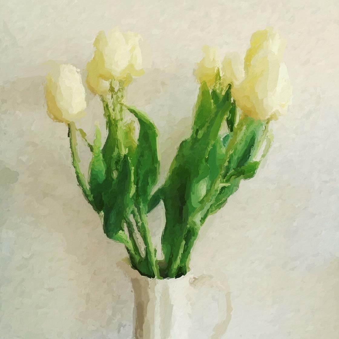 Painted iPhone Flower Photo 1 no script