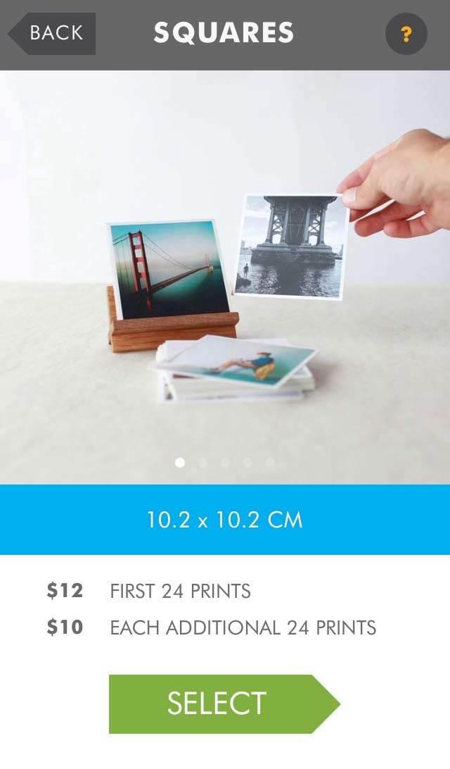Print Instagram Photos iPhone 19 no script
