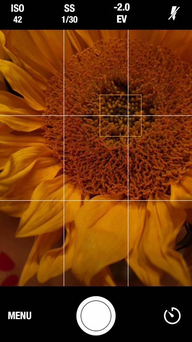 Manual Camera iPhone App 1 no script