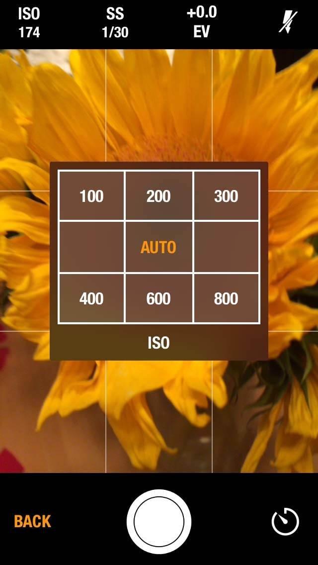 Manual Camera iPhone App 2 no script