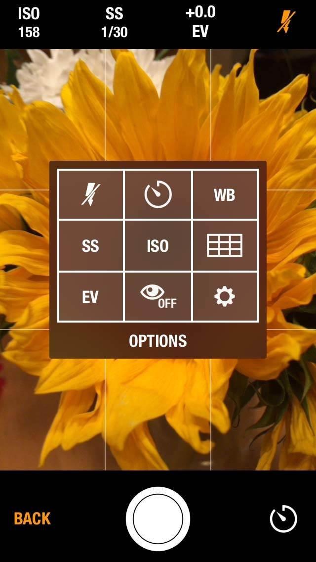 Manual Camera iPhone App 6 no script