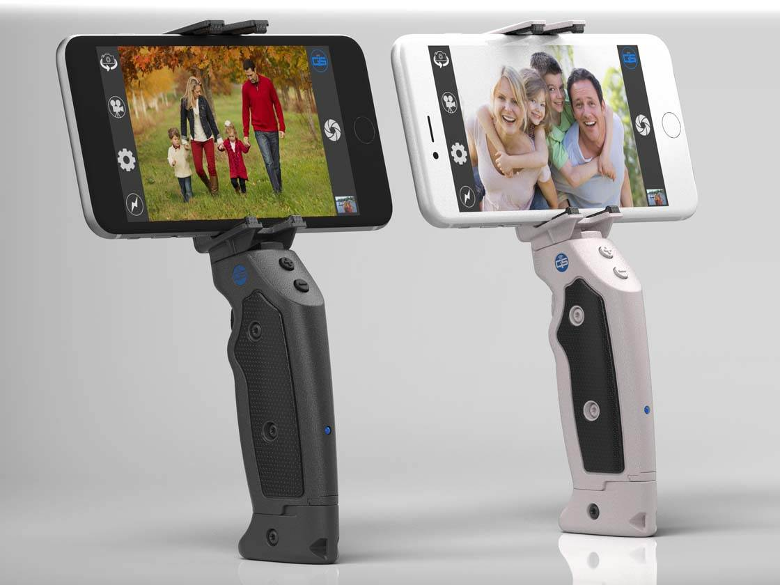 iPhone Grip And Shoot Accessory 1