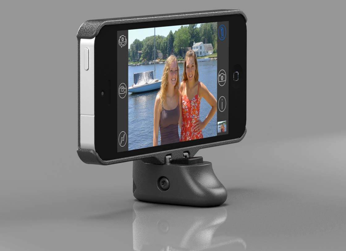 iPhone Grip And Shoot Accessory 9 no script