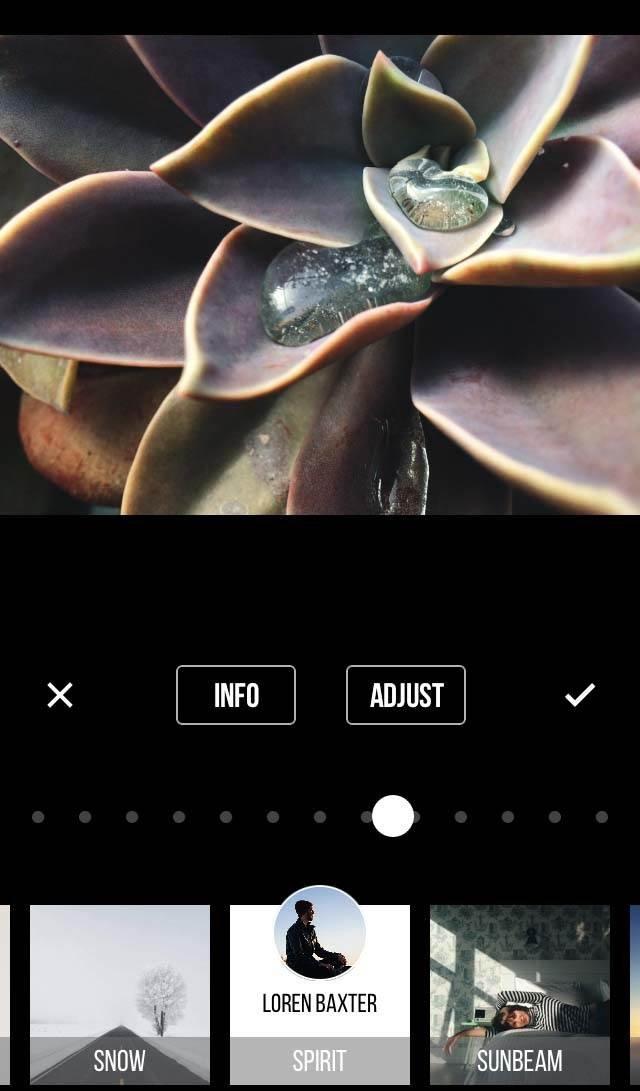 Priime App iPhone Photo Editing 6 no script