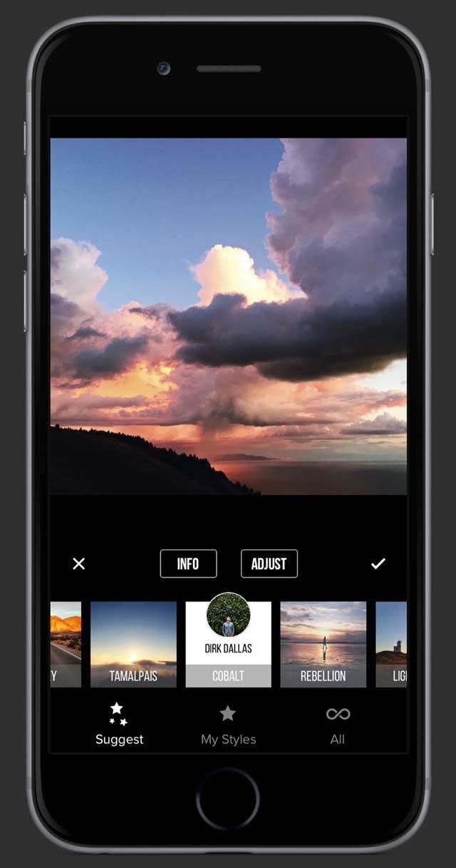 Priime App iPhone Photo Editing 17 no script